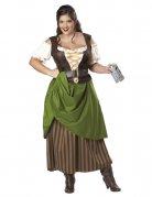 Mittelalterliche Tavernen Magd übergröße