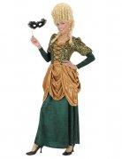 Edelfrau Renaissance Damenkostüm grün-gold