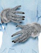 Werwolf Hände grau-schwarz