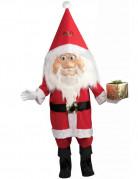 Weihnachtsmann Kostüm Deluxe Nikolaus rot-weiss