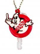Kreepsville Schlüsselanhänger mit Geist weiss-rot