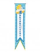 Oktoberfest Wimpel blau-weiss 40x180cm