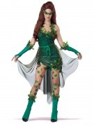 Tödliche Schönheit Märchen Fee Damenkostüm grün