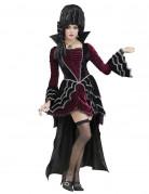 Viktorianische Vampirin Damenkostüm bordeaux-schwarz