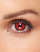 Motivlinsen Kontaktlinsen Teufel rot
