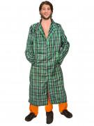 Dreibeiniger Mann Kostüm Männerballett grün-orange