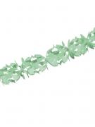 Papier-Girlande Party-Deko grün 600x18cm