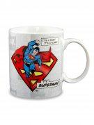 Superman™-Tasse DC™ Lizenzprodukt weiß-bunt 300ml