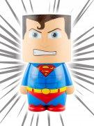 Superman™-Lampe DC™ Deko blau-rot-gelb 13x25x10,5cm