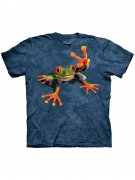 The Mountain T-Shirt Victory Frog Lizenzware blau-grün