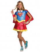 DC Super Hero Girls Supergirl Deluxe Kinderkostüm Lizenzware bunt