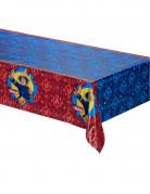 Sam der Feuerwehrmann™ Kunststoff-Tischdecke Lizenzware blau-rot