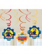 Sam der Feuerwehrmann™-Dekospiralen 6 Stück