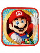 Pappteller Super Mario™ 8 Stück bunt 23cm