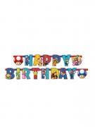 Super Mario™ Geburtstagsgirlande Happy Birthday bunt 1,9m
