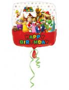 Mario Bros™-Luftballon Nintendo-Geburtstagsballon bunt 43x43cm