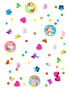 Einhorn-Konfetti Partydeko Kindergeburtstag bunt 34g