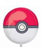 Pokemon™-Aluminiumballon Pokéball-Motiv 38x40cm