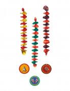 Indianer-Hängedeko 3 Stück 60 cm