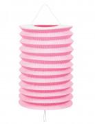 Laternen 12 Stück rosa 20 cm