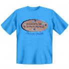 Oktoberfest Fun T-Shirt Die Liebe und der Suff... blau-braun