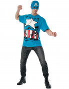 Captain America aus The Avengers - Kostüm und Maske blau