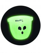 Nachtleuchtender Gespenster-Eimer Trick or Treat Behälter grün