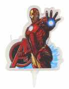 Avengers™-Kerze Geburtstagsdeko