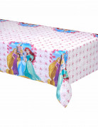 Kunststofftischdecke Disney Prinzessinnen weiß/bunt