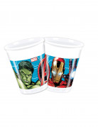 Avengers™-Trinkbecher Hulk und Iron Man Marvel-Lizenzartikel 8 Stück bun 200ml