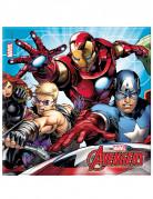 Avengers™-Partyservietten Lizenzartikel 20 Stück 33x33cm