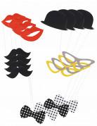 Schnellverkleidungs-Set für Fotos 20-teilig bunt