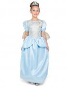 Süsse Prinzessin Mädchenkostüm hellblau