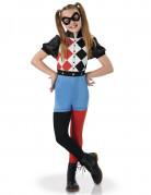 Harley Quinn™ Kinderkostüm für Mädchen Superhero Girls™ Lizenzartikel bunt