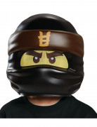 LEGO™ Ninjago™ Kindermaske Cole Lizenzware braun-schwarz