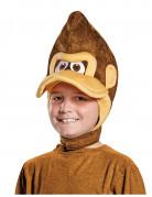 Donkey Kong™ Schirmmütze für Kinder Nintendo™ Lizenzartikel braun-beige-weiss