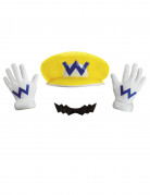 Wario™ Verkleidungs-Set Nintendo™ Lizenzartikel bunt