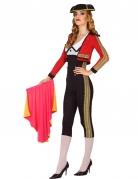 Torero-Kostüm für Damen schwarz-rot