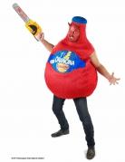 Orangina Unisex-Kostüm Limonadenflasche rot-blau