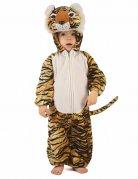 Kleiner Tiger Kleinkinder-Tierkostüm braun-schwarz-weiss