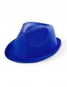 Hut Borsalino für Kinder blau
