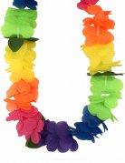 Hawaii Blumenkranz Halskette Kostüm-Accessoire bunt