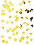 Sternen-Konfetti Metallic gold 50g