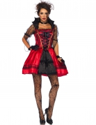 Halloween-Kostüm Sexy Gothic-Vampirin für Damen