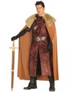 König des Nordens Kostüm für Herren braun-beige