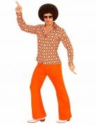 Groovy 70er Jahre Retro-Shirt für Herren
