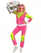 80er Jahre Sportlerin Kostüm für Damen