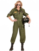 Kostüm Kampfflieger für Damen