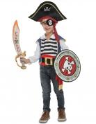 Pirat-Kostüm mit Zubehör für Kinder