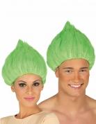 Troll-Perücke für Damen und Herren grün